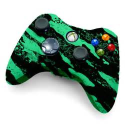 Xbox 360 Modded Controller Glow In The Dark Savage