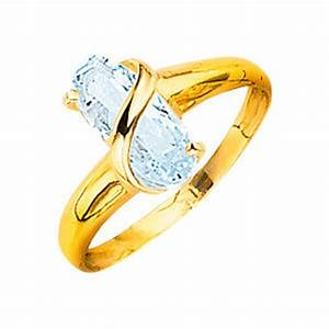 Bague Avec Pierre Bleu : bague or avec pierre bleu clair plaisir des yeux ~ Melissatoandfro.com Idées de Décoration