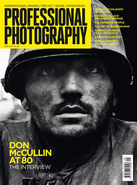 In Praise Of Professional Photography Magazine Peter