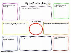 my self care plan elsa support With self care plan template