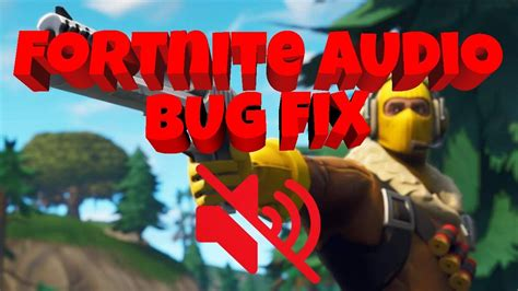 fortnite  sound fix pc youtube