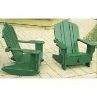 outdoor furniture youth adirondack chair plan workshop