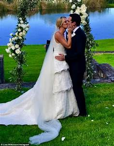 sylvia jeffreys in custom rebecca vallance wedding dress With today show wedding dresses