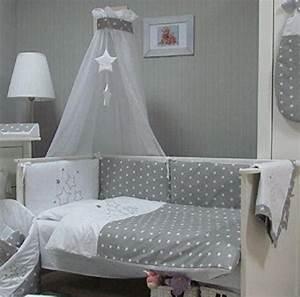 Bettwäsche Set Baby : baby bettw sche set stars 4tlg bett set 135 100 voile f rs babybett 140 70 cm bettw sche ~ Markanthonyermac.com Haus und Dekorationen