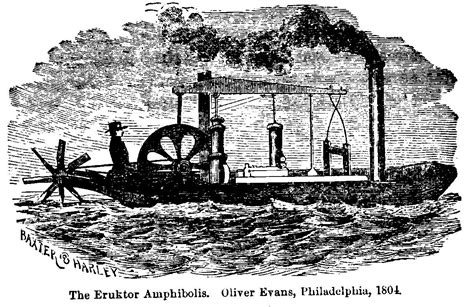 Steam Boat Experiment by Chapter 23 Fitch Goes To France