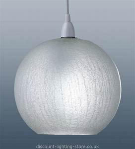 Crackle glass pendant light shade ceiling shades find