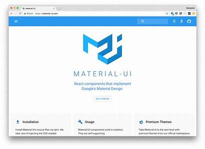 Ui Material React Web Application Sample Started