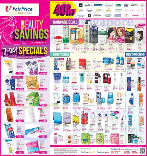 Beauty Savings, Up To 40 Percent Off Selected Brands