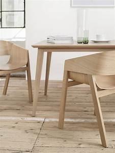 Petite Table En Bois : petite table rectangle en bois de h tre massif 80 x 120 cm jutland ~ Teatrodelosmanantiales.com Idées de Décoration