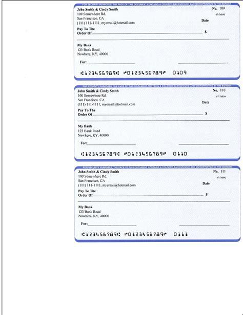 ezcheckpersonal   easy  print pocket sized