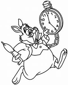 How to Draw The White Rabbit from Alice in Wonderland
