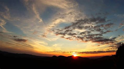 Time Lapse Amazing Hd Vermont Sunset Sky And Clouds