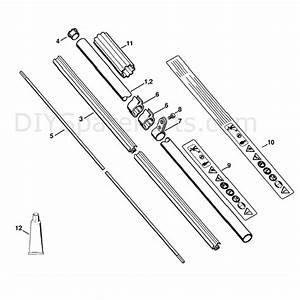 Stihl Fs 130 Brushcutter  Fs130r  Parts Diagram  Drive