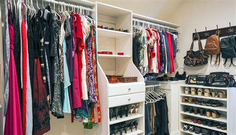 How To Organize A Clothes Closet by Closet Divided Into Various Sections