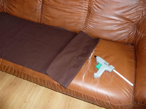 couture canapé cuir comment reparer assise canape la réponse est sur admicile fr
