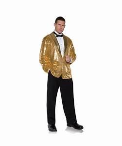 gold sequin mens jacket costume