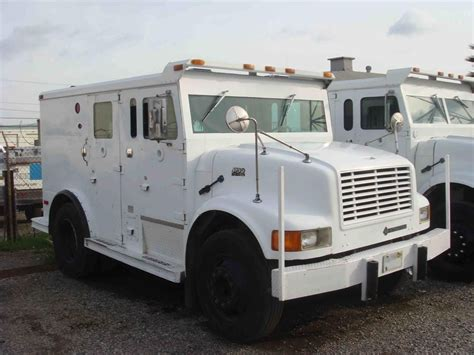 armored bank car  armored truck  armored