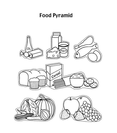 dairy group coloring pages   print