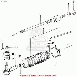 Tie Rod End Diagram