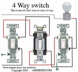 Four Way Dimmer Switch
