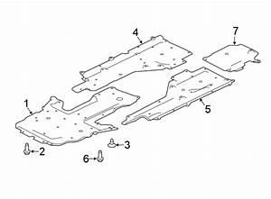 Jaguar Xe Floor Pan Splash Shield  2 0 Liter Diesel  2 0