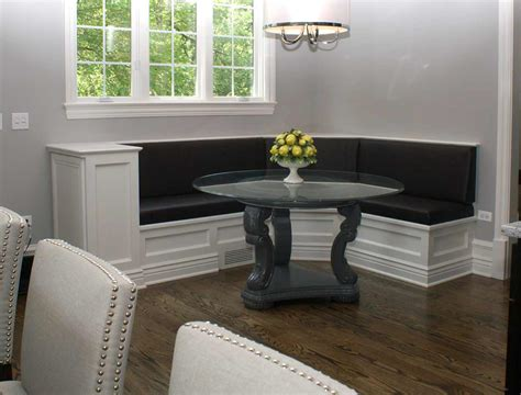 kitchen banquette furniture custom banquette seating the clayton design the height