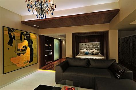 redesigned  redecorated residence  india   bold