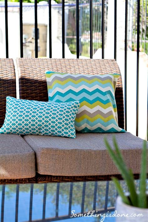 how to sew outdoor cushion covers