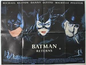Batman Returns - Original Cinema Movie Poster From ...