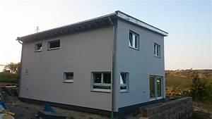 Sockelfarbe Außen Grau : der au enputz unseres fertighauses von hanse haus fertighausbaublog ~ Watch28wear.com Haus und Dekorationen