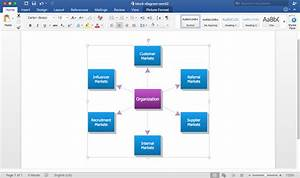 Add A Block Diagram To A Ms Word Document