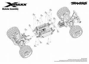 Exploded View  Traxxas X