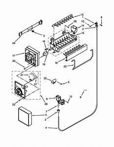 Whirlpool Freezer Parts Diagram