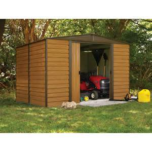 arrow shed woodridge 10 x 8 ft steel storage shed