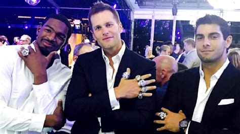 england patriots     super bowl rings
