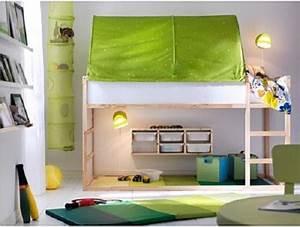 Ikea Chambre D Enfant : chambre d enfant lit r versible kura par ikea kura ikea et lits ~ Teatrodelosmanantiales.com Idées de Décoration