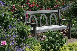 Pictures England Rosemoor Gardens Devon Roses Nature Bench ...