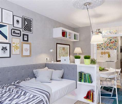 salon et chambre dans la même pièce 20 idées pour aménager