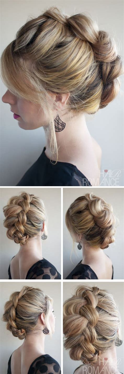 chic easy hairstyles 25 best ideas about chic hairstyles on pinterest tuto