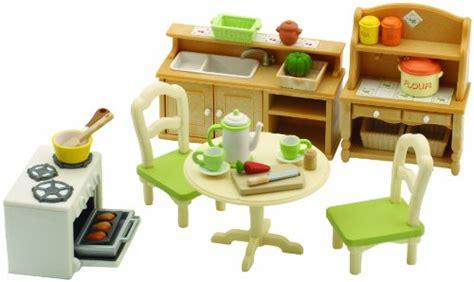 Sylvanian Families-cocina De Juguete Para Casas De