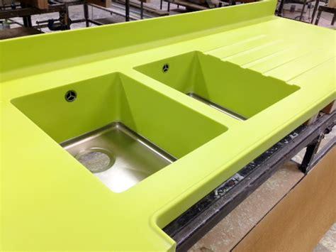 Green Corian Corian 174 Green With Envy Counter Production Ltd