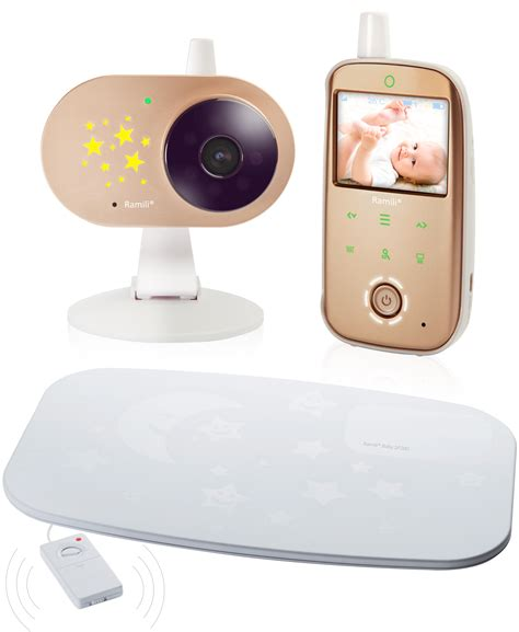 Baby Monitor And Sensor Mat - ramili ramili 174 baby monitor rv1200