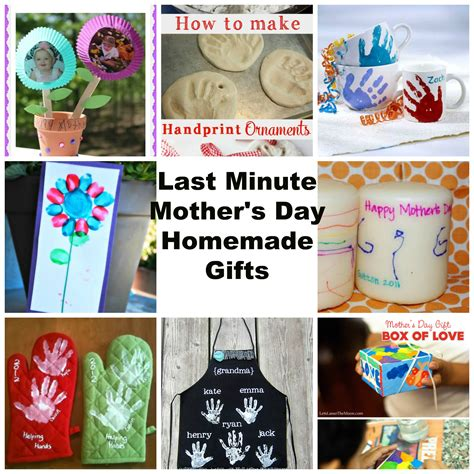 how to make a day gift last minute mothers day gifts homemade by kids kiddy crafty