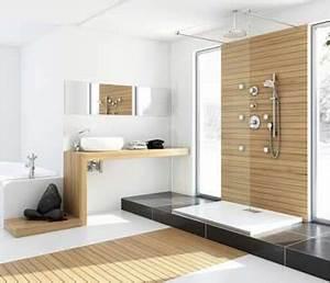 8 douches a l39italienne tendance chic et zen With parquet douche italienne