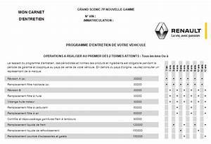 Carnet Entretien Renault Kadjar : sc nic iii p riodicit des r visions sur scenic iii p0 ~ Medecine-chirurgie-esthetiques.com Avis de Voitures