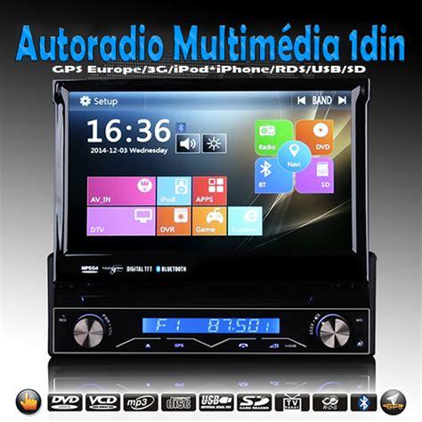 autoradio gps bluetooth win8 1din