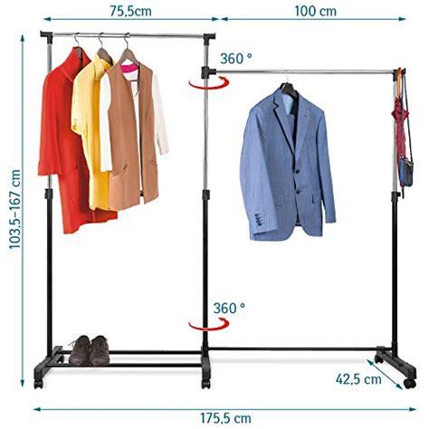 kleiderstange auf rollen kleiderstange z b ausziehbar zur wandmontage