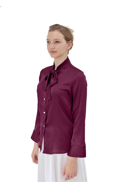 high collar blouse marycrafts womens office sleeve high collar