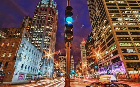 city lights  motion hdr wallpaper travel  world