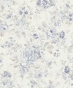 Vintage Tapete Grau : vliestapete rasch blumen vintage cremewei hellblau 516012 ~ Sanjose-hotels-ca.com Haus und Dekorationen